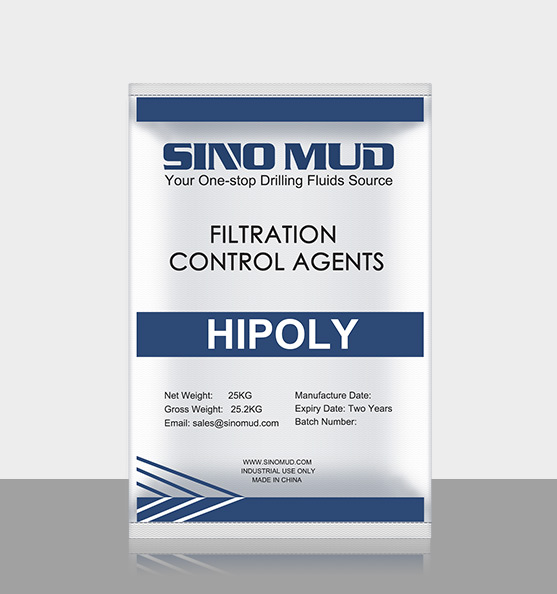 SINO MUD filtrate control agents HIPOLY