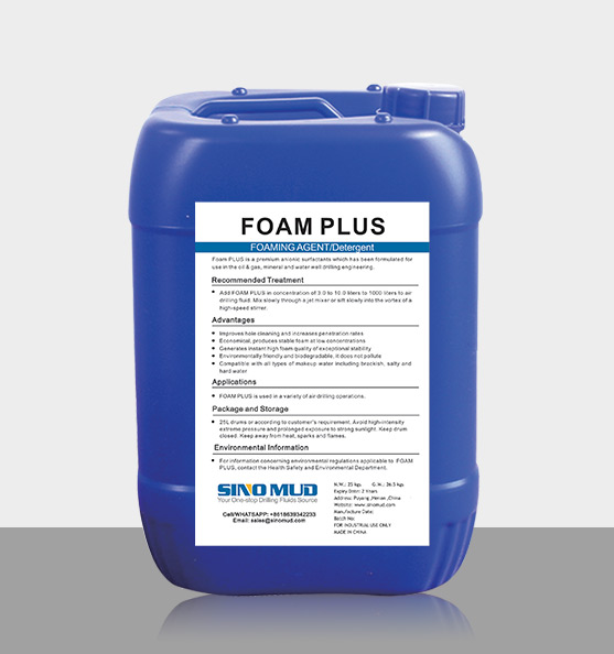 SINOMUD:FOAMING AGENT FOAM PLUS