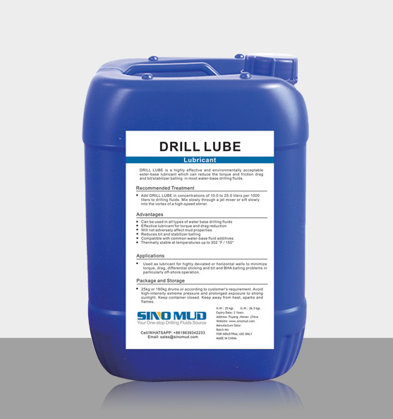 SINO MUD Lubricant DRILL LUBE
