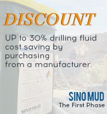 UP to 30% drilling fluid cost saving by purchasing from a manufacturer.
